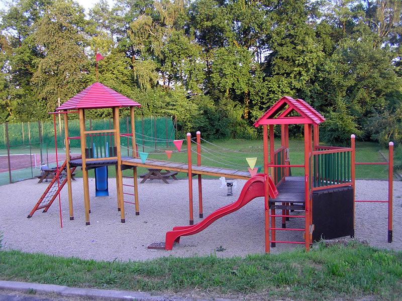 Dětské hřiště ve Všechovicích